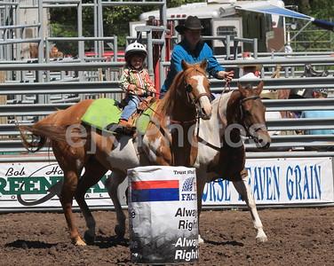 Bickleton Junior Barrel Racing