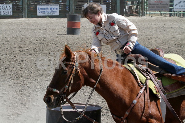 Pee Wee & Junior Barrel/Arlington Jackpot Rodeo 2010
