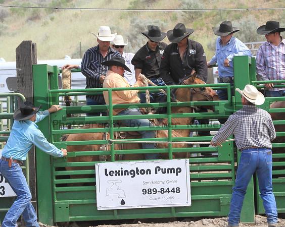 Ranch Bronc/Arlington Jackpot Rodeo 2013