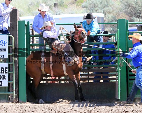 2016 Saddle Bronc