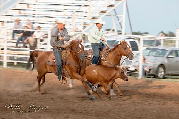 2018 TOT Rodeo Steer Wrestling Fri Night