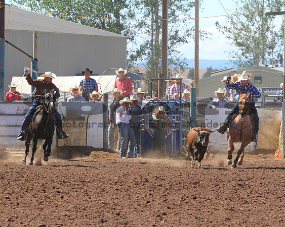 Klickitat County Fair & Rodeo Team Roping 2013