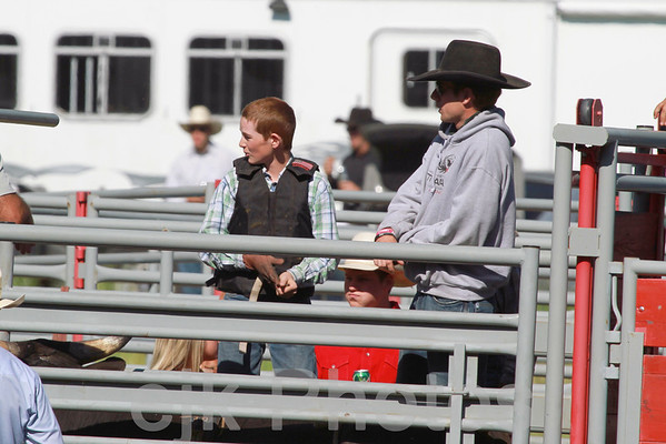 Junior Bull Riding/Bickleton 2011