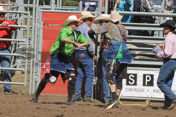 Bull Riding Sunday Only/Bickleton Rodeo 2012