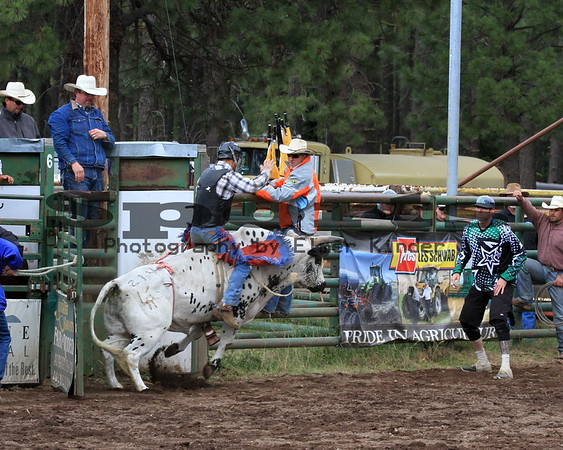 Saturday Performance Glenwood Rodeo