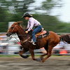 Fast gallop at the rodeo