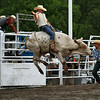 Airborn bull riding, rodeo