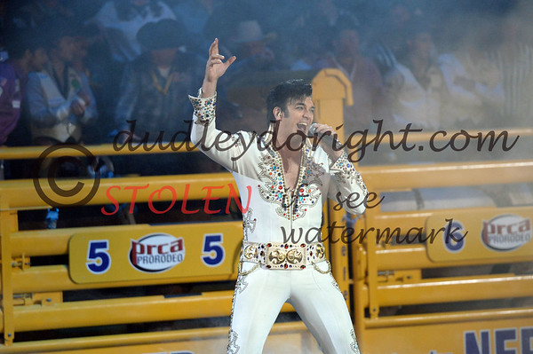 NFR2013-1-014 opening ELVIS Welcome to Vegas