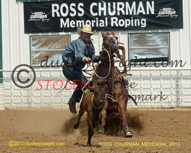 Ross Churman Memorial Roping-Saginaw, Texas-Sept 7, 8, 2013