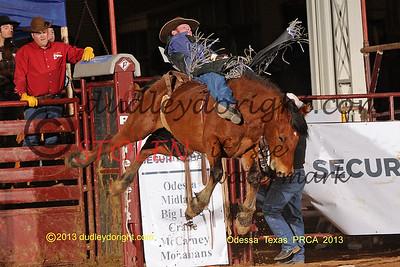 Sandhills PRCA Rodeo-Odessa, Texas-Jan 4-12, 2013