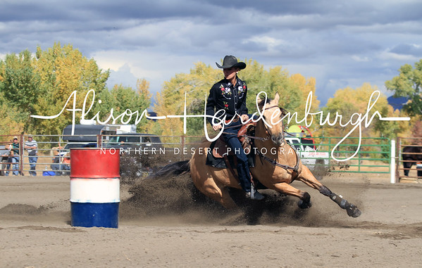 Ladies Barrel Racing ~ Saturday
