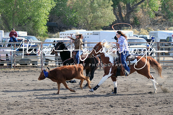 Women's Team Roping ~ Sunday