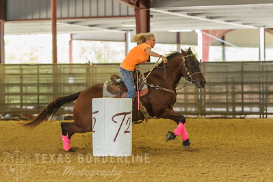 October 02, 2016-T2 Arena 'Rope For Kids' Barrel Racing-TBP_2350-