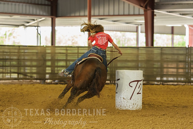 October 02, 2016-T2 Arena 'Rope For Kids' Barrel Racing-TBP_2360-