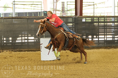October 02, 2016-T2 Arena 'Rope For Kids' Barrel Racing-TBP_2962-