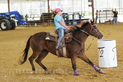 October 02, 2016-T2 Arena 'Rope For Kids' Barrel Racing-TBP_2988-