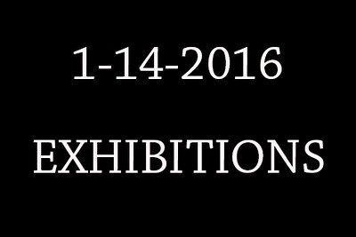 1-14-2015 Exhibitions cover
