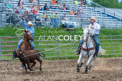 Team Roping-Perf and Slack-20190719