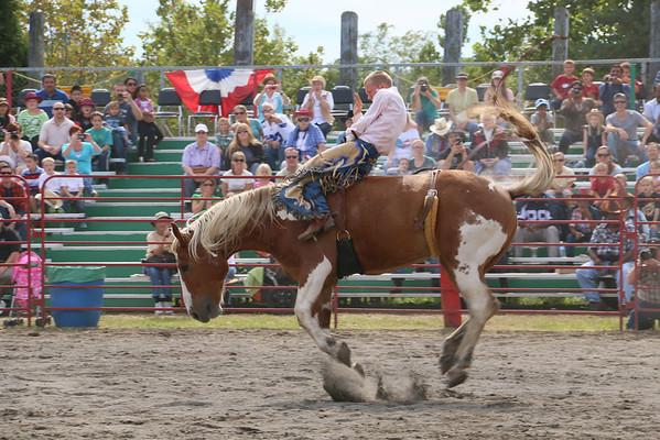 Broncs at Liberty Pro Rodeo