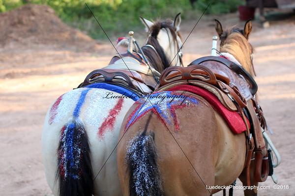 Cedar Park Rodeo trick riding
