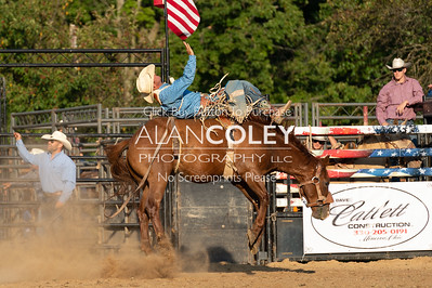 Bareback and Saddle Bronc-20190727