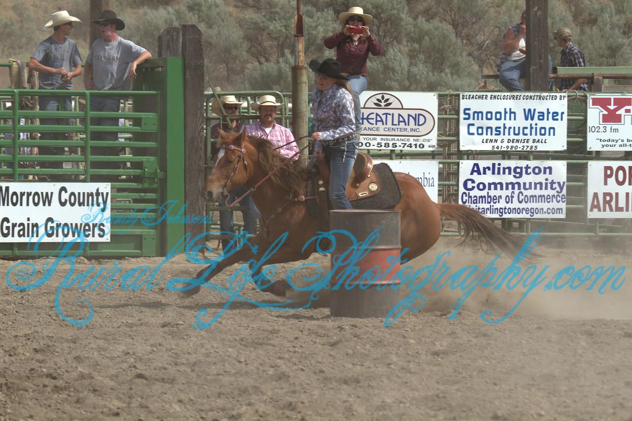 2013 Arlington Jackpot Rodeo Saturday ( Barrels)