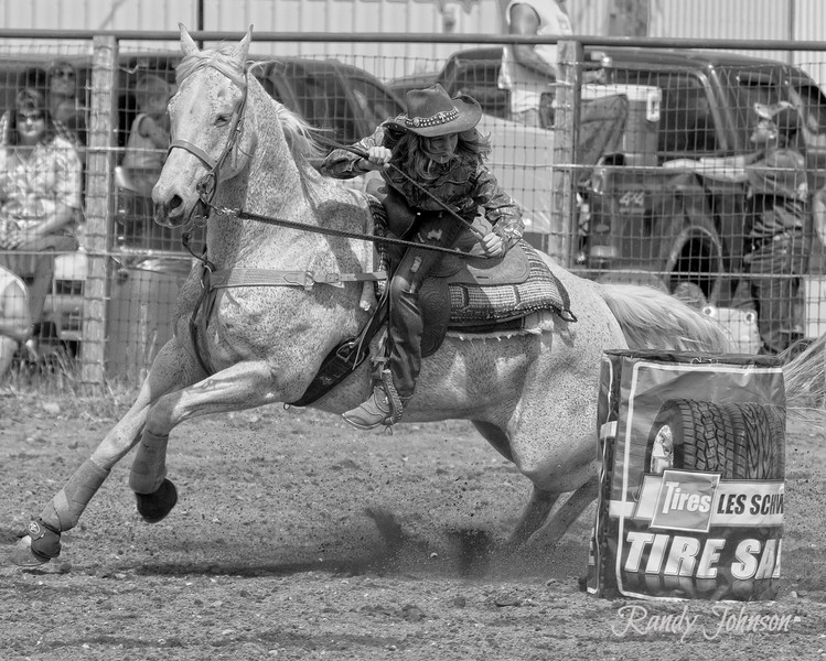 (Miss Madi Couch) JR Barrel Racer