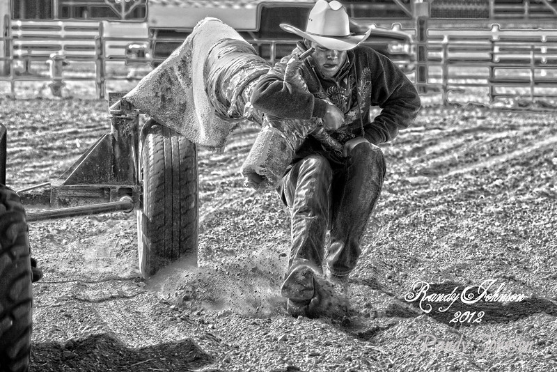 Goldendale Rodeo Bible Camp Steer wrestling Clinic