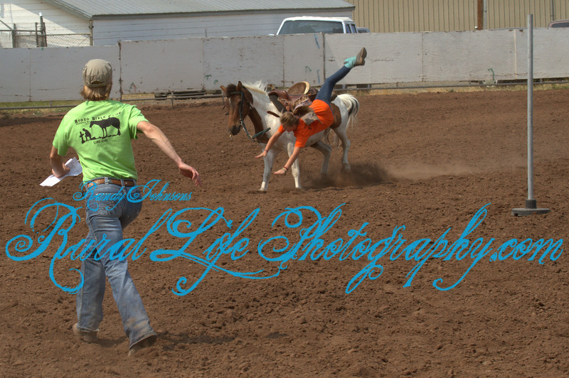 6675<br /> It  ain't always easy being a Cowgirl.