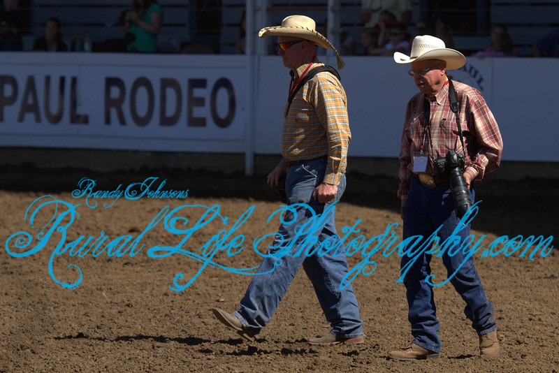 (3937)<br /> PRCA Photographers Mr Bill Lawless and Mr Bob Click.