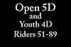 Sunday open 5d 51-89