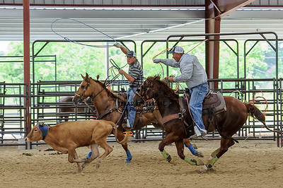 June 15, 2015-Team Roping School-7743