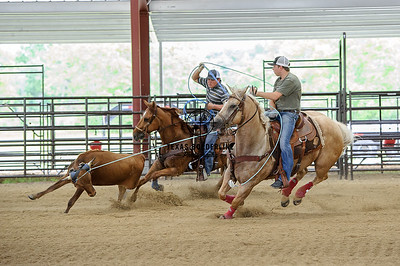 June 15, 2015-Team Roping School-7772