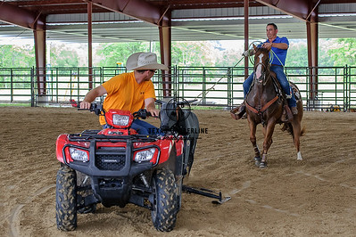 June 15, 2015-Team Roping School-7644