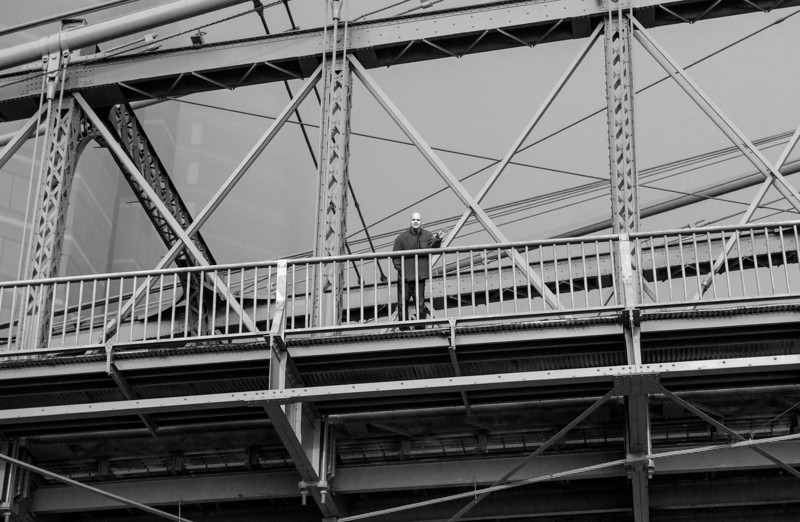 Roebling Suspension Bridge - what B&W?