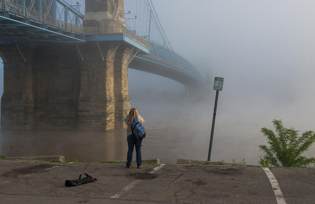 Photographer Roebling Suspension Bridge