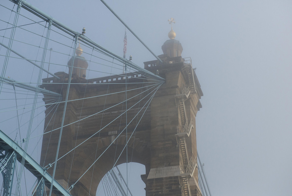 Roebling Suspension Bridge Tower v2