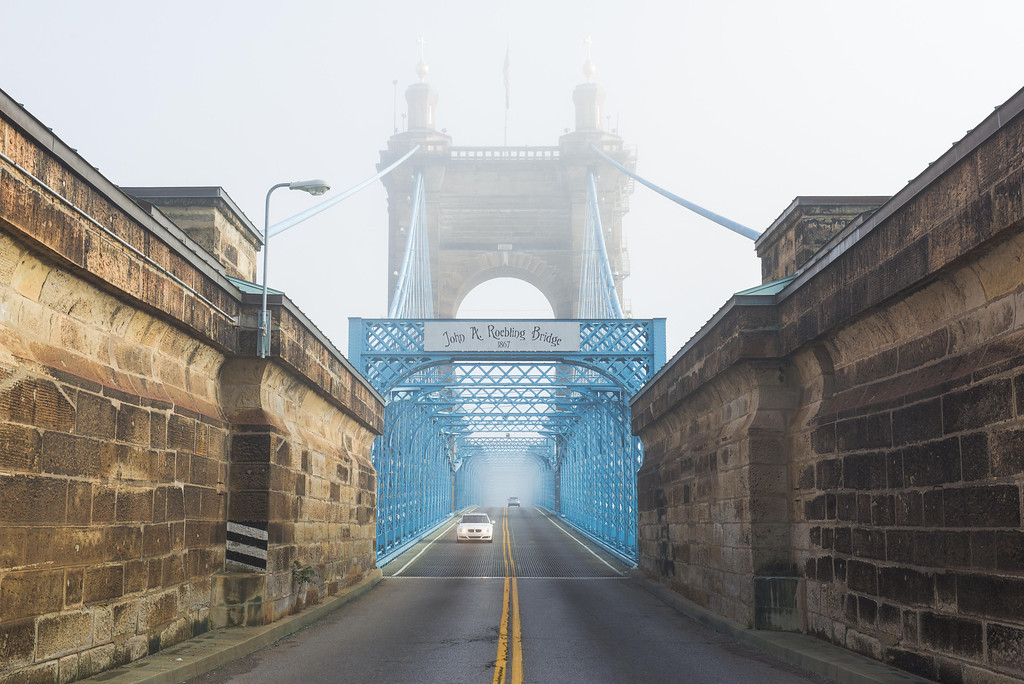 Roebling Suspension Bridge Drive