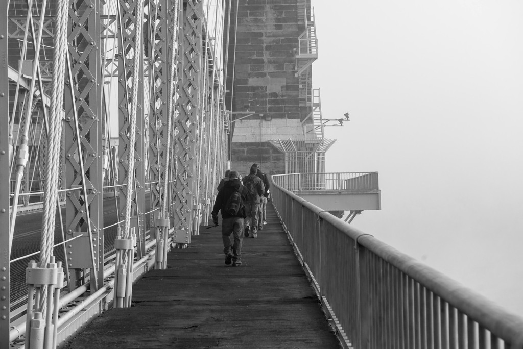 Roebling Suspension Bridge B&W Photographers