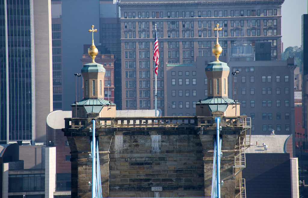 Roebling Suspension Bridge North Towers