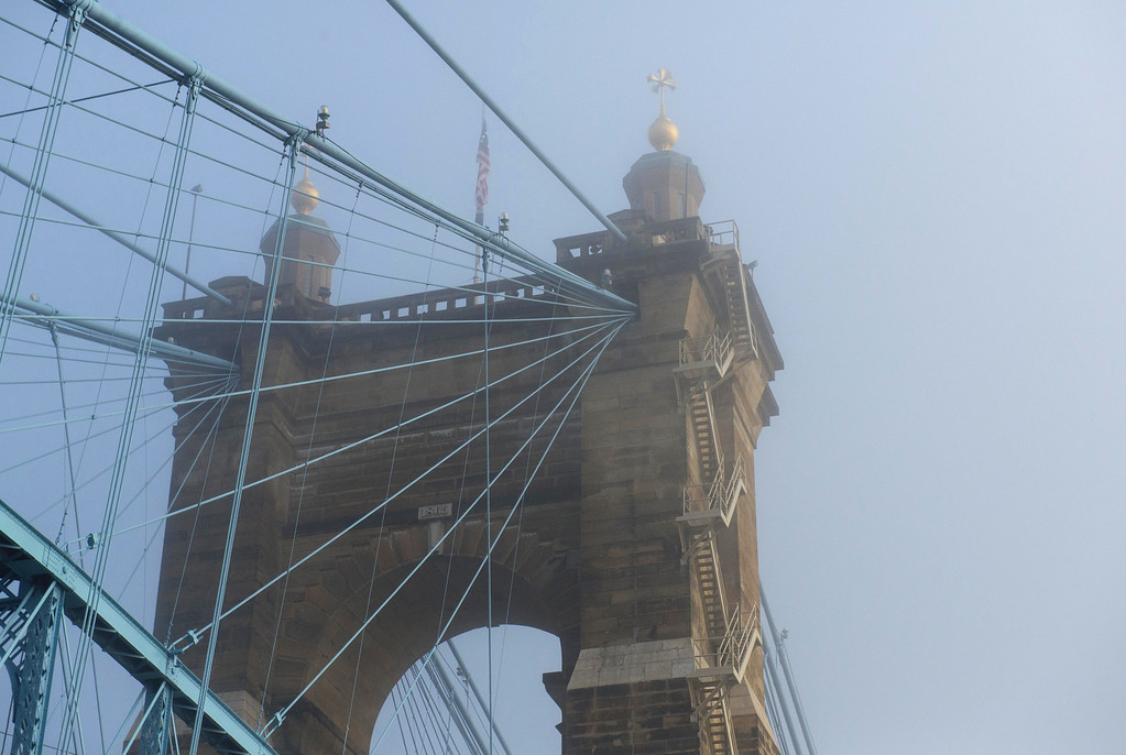 Roebling Suspension Bridge Tower