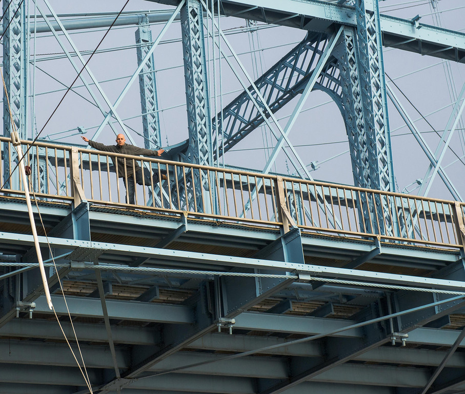 Roebling Suspension Bridge Dance