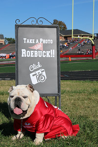 Halftime Pictures with Roebuck!