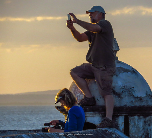 Shooting on Ibo Island, off the coast of Mozambique.
