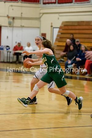 RHS girls basketball game Feb 5 2018
