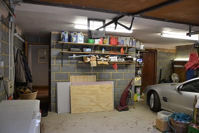 Pegmire Lane garage, WD25