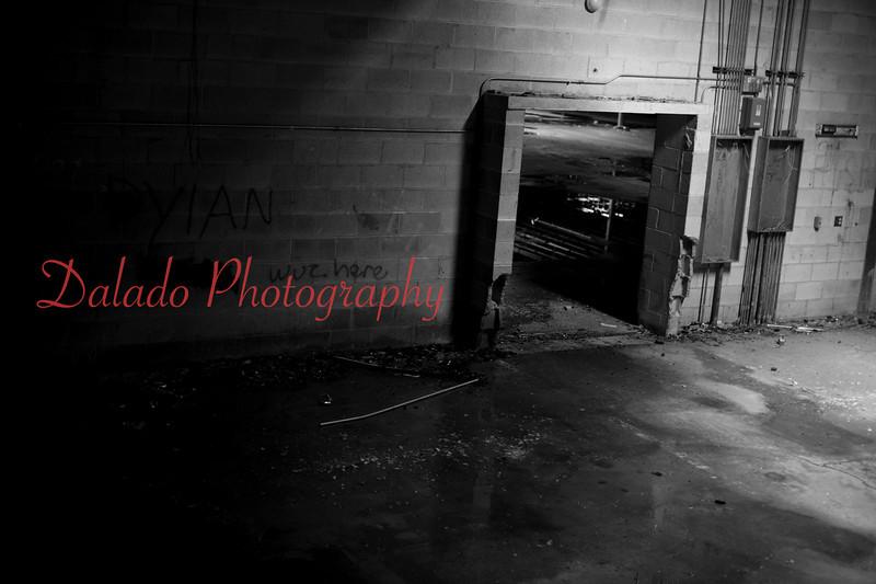 Abandon industrial building.