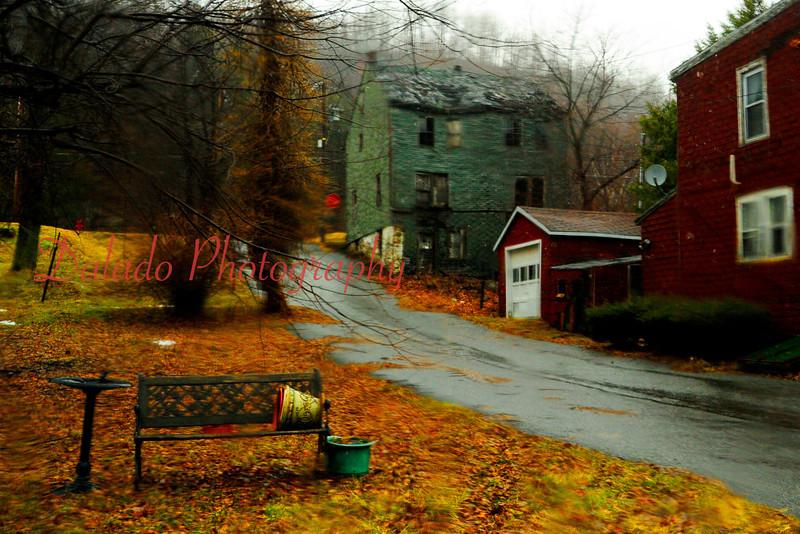 Abandon houses.