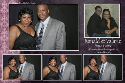 Ronald & Valarie Wedding
