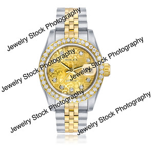 Womens DateJust Rolex Color Corrected